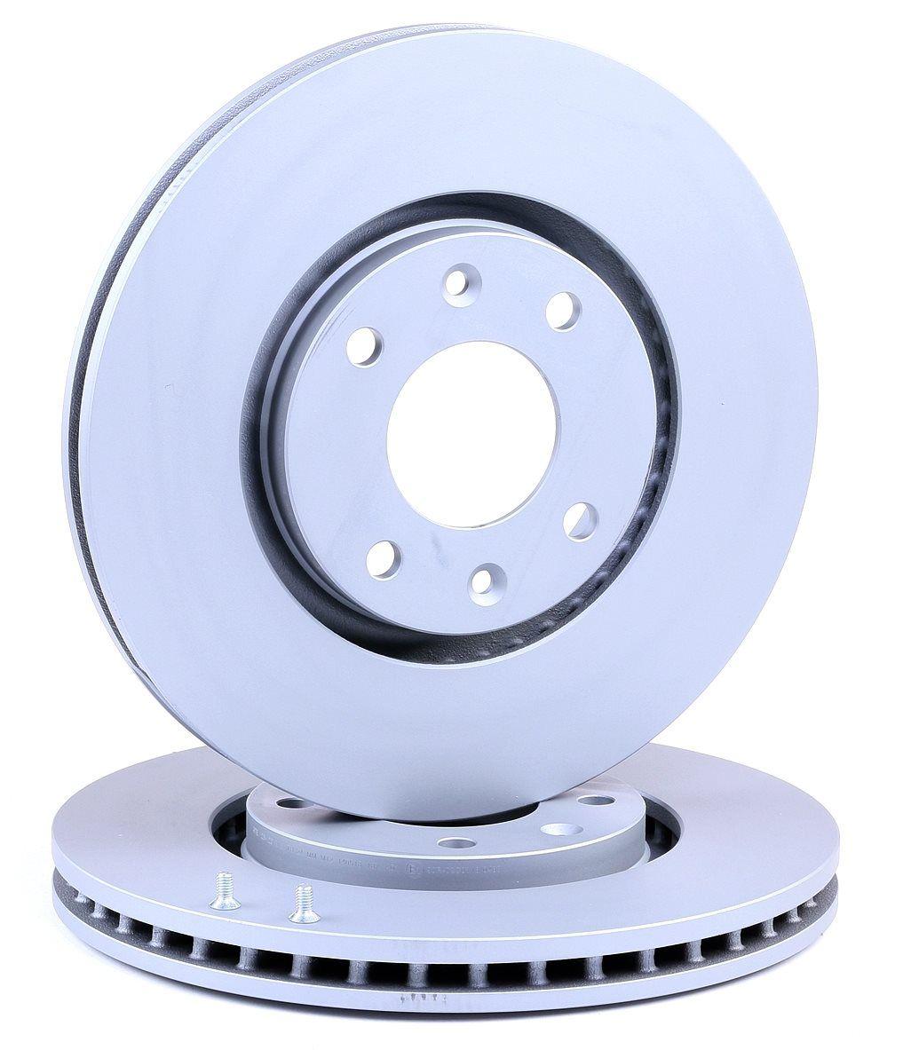 ATE: Original Bremsscheibe 24.0126-0120.1 (Ø: 283,0mm, Lochanzahl: 4, Bremsscheibendicke: 26,0mm)