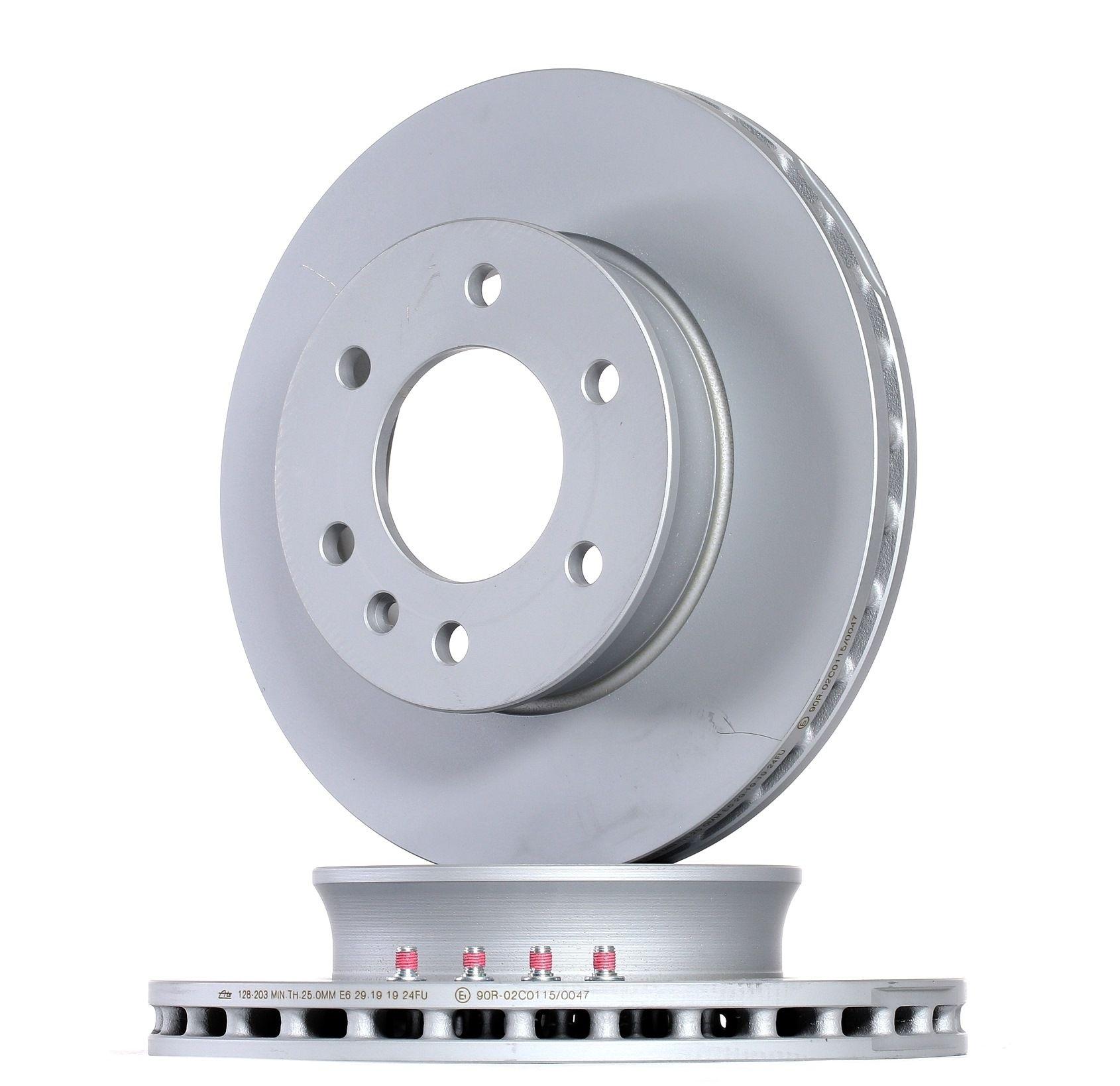 Achetez Disques de frein ATE 24.0128-0203.1 (Ø: 300,0mm, Nbre de trous: 6, Épaisseur du disque de frein: 28,0mm) à un rapport qualité-prix exceptionnel