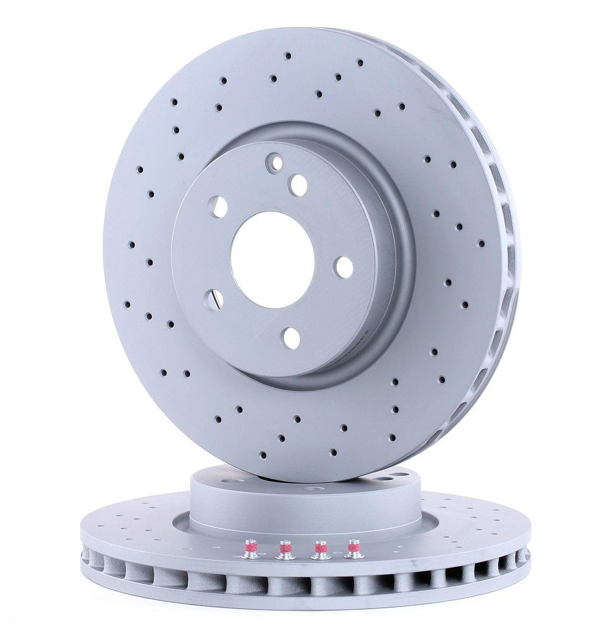 Origine Disque ATE 24.0132-0100.1 (Ø: 322,0mm, Nbre de trous: 5, Épaisseur du disque de frein: 32,0mm)