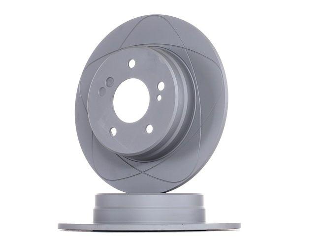 Bremsscheibe für Bremsanlage Hinterachse ZIMMERMANN 400.1407.52