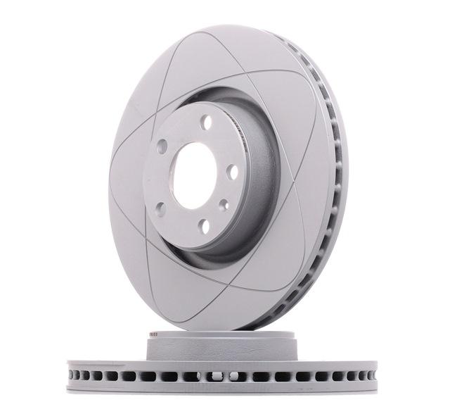 530175 ATE PowerDisc belüftet, beschichtet, hochgekohlt, mit Schrauben Ø: 321,0mm, Lochanzahl: 5, Bremsscheibendicke: 30,0mm Bremsscheibe 24.0330-0175.1 günstig kaufen