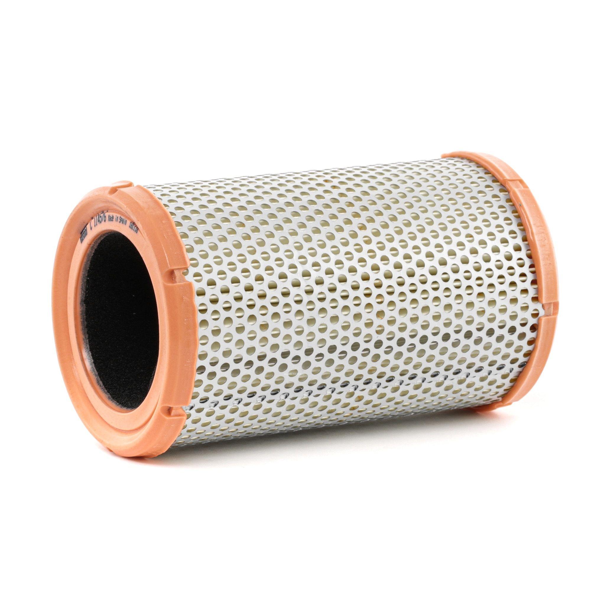 C 1145/6 MANN-FILTER Filtereinsatz Höhe: 180mm Luftfilter C 1145/6 günstig kaufen
