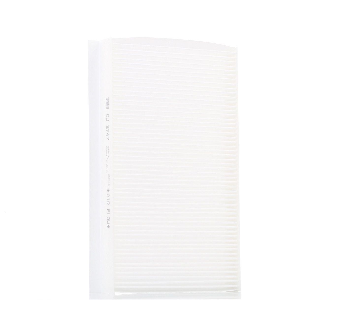 Image of MANN-FILTER Pollen Filter LAND ROVER CU 2747 JKR500010 Cabin Filter,Cabin Air Filter,Filter, interior air