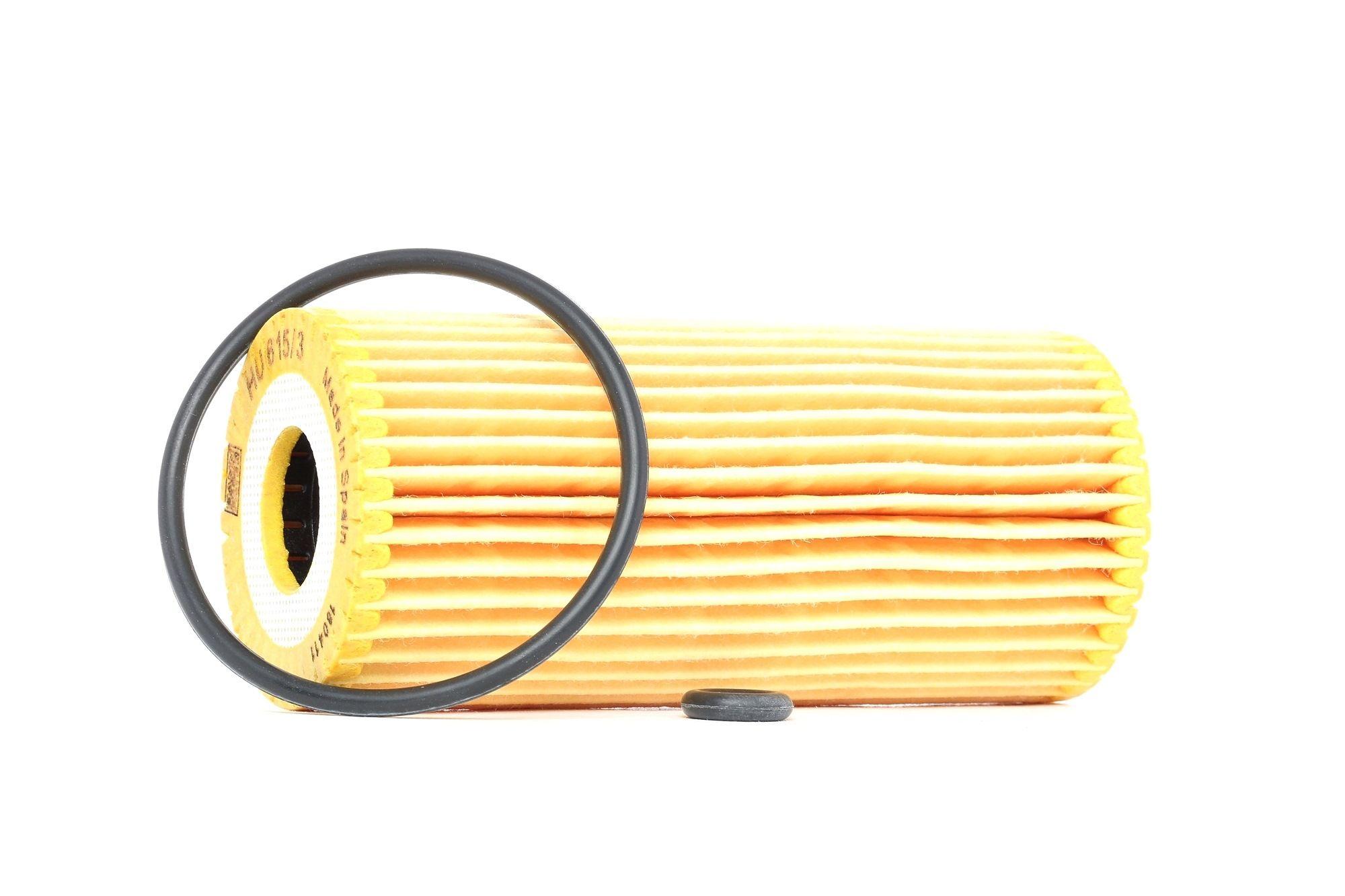 MANN-FILTER: Original Ölfilter HU 615/3 x (Innendurchmesser: 22mm, Innendurchmesser 2: 22mm, Ø: 53mm, Höhe: 116mm)