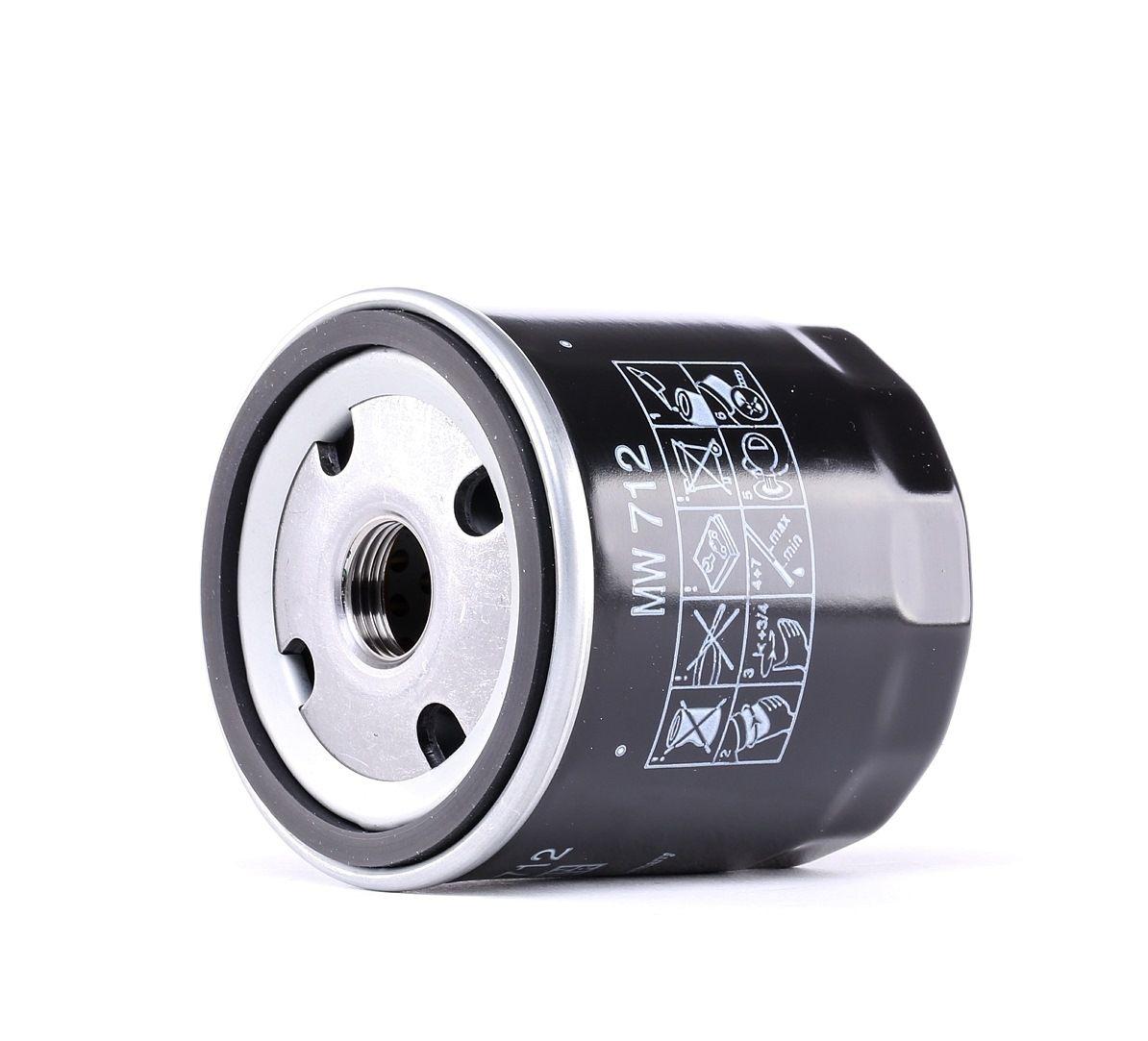 Moto MANN-FILTER Anschraubfilter Innendurchmesser 2: 62mm, Ø: 76mm, Außendurchmesser 2: 71mm, Höhe: 79mm Ölfilter MW 712 günstig kaufen
