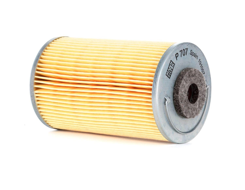 P 707 MANN-FILTER Filtereinsatz Höhe: 116mm Kraftstofffilter P 707 günstig kaufen