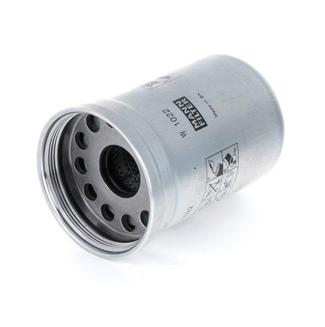 W 1022 MANN-FILTER Alyvos filtras įsigyti dabar