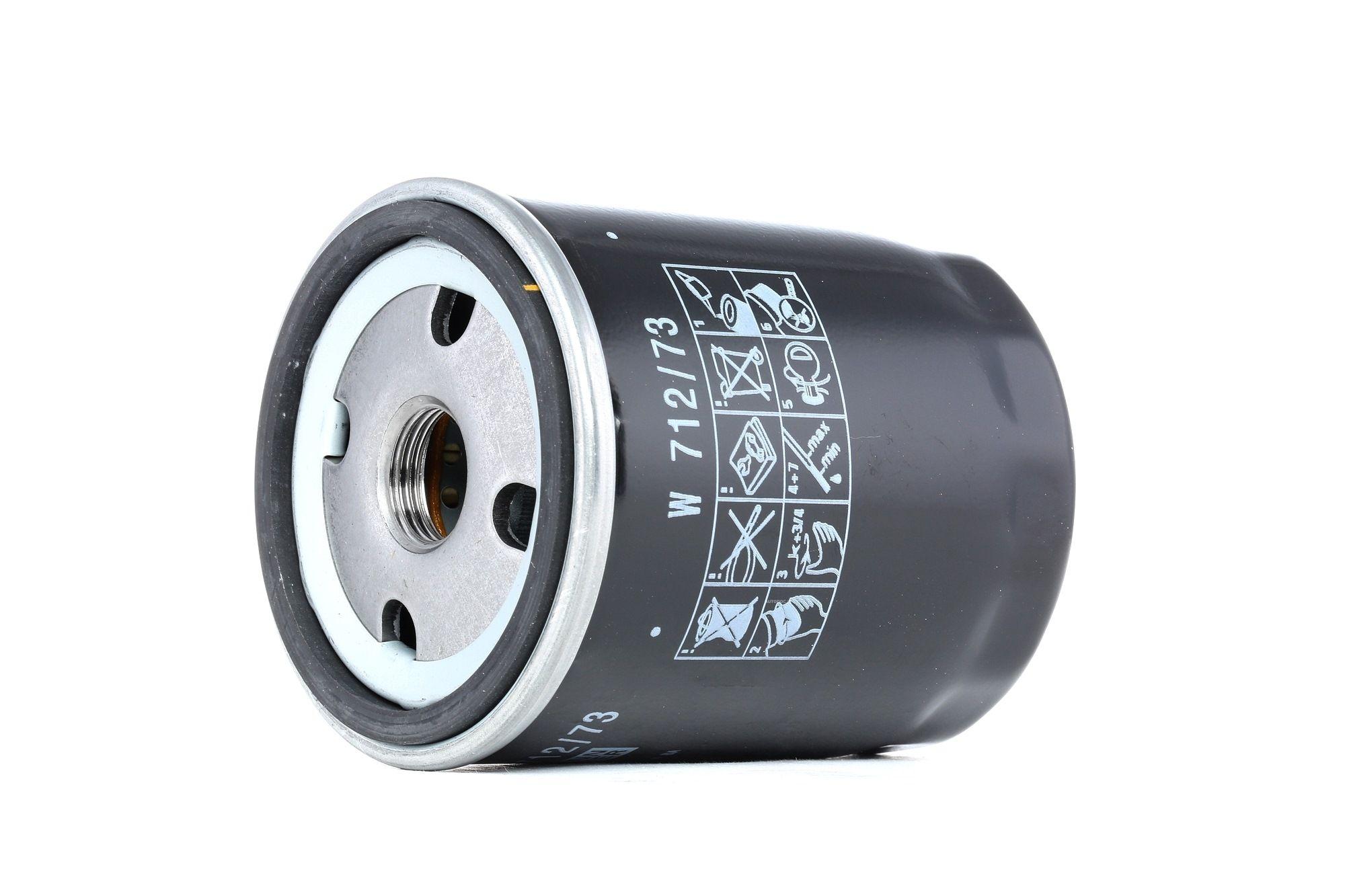 MANN-FILTER: Original Autofilter W 712/73 (Innendurchmesser 2: 62mm, Innendurchmesser 2: 62mm, Ø: 76mm, Außendurchmesser 2: 71mm, Höhe: 93mm)