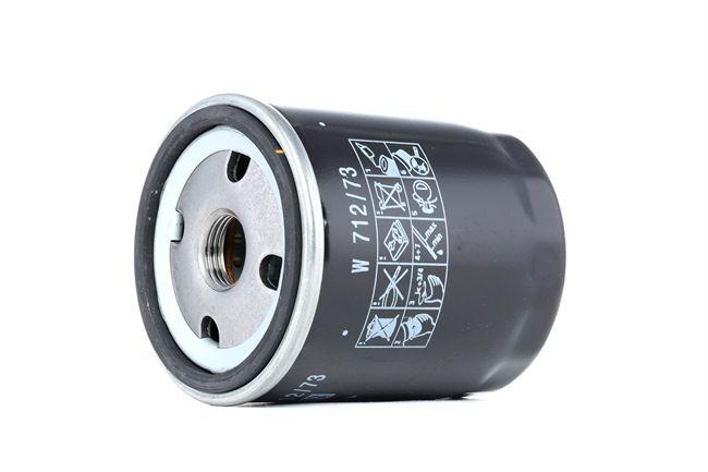MANN-FILTER: Original Motorenteile W 712/73 (Innendurchmesser 2: 62mm, Ø: 76mm, Außendurchmesser 2: 71mm, Höhe: 93mm)