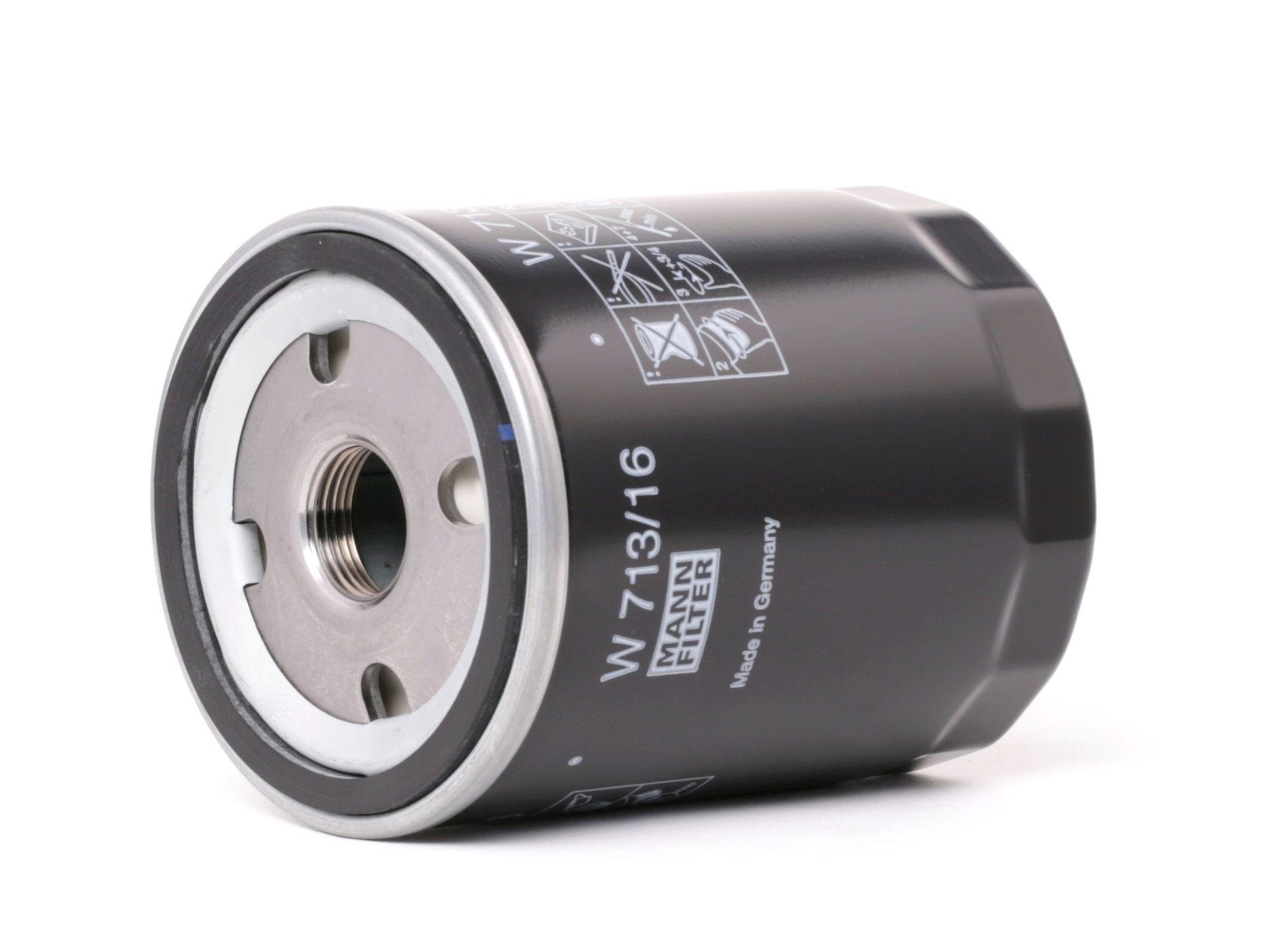Acquistare ricambi originali MANN-FILTER Filtro olio W 713/16