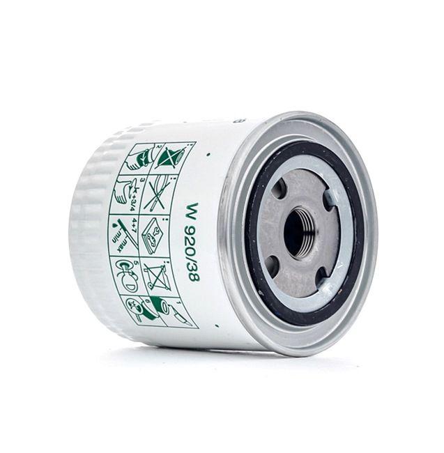 MANN-FILTER Маслен филтър W 920/38