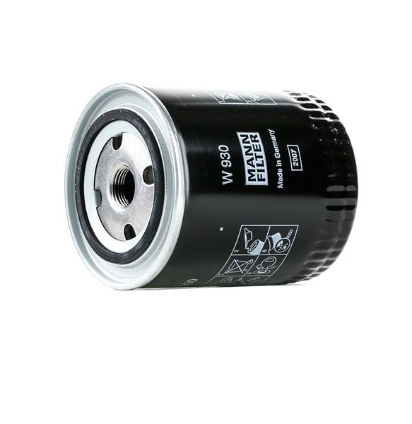 Filtru ulei W 930 cumpărați online 24/24