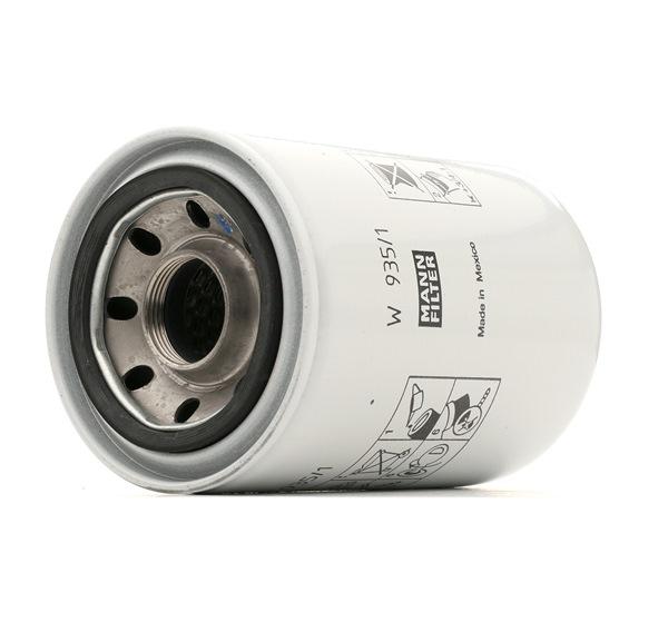 Beställ W 935/1 MANN-FILTER Filter, drifthydraulik nu