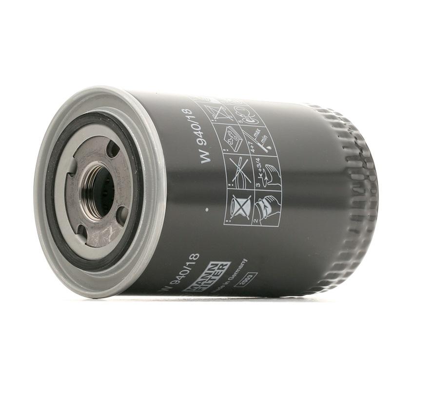 Original Filter W 940/18 Iveco
