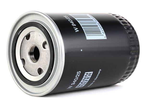 W 940/25 MANN-FILTER Alyvos filtras įsigyti dabar