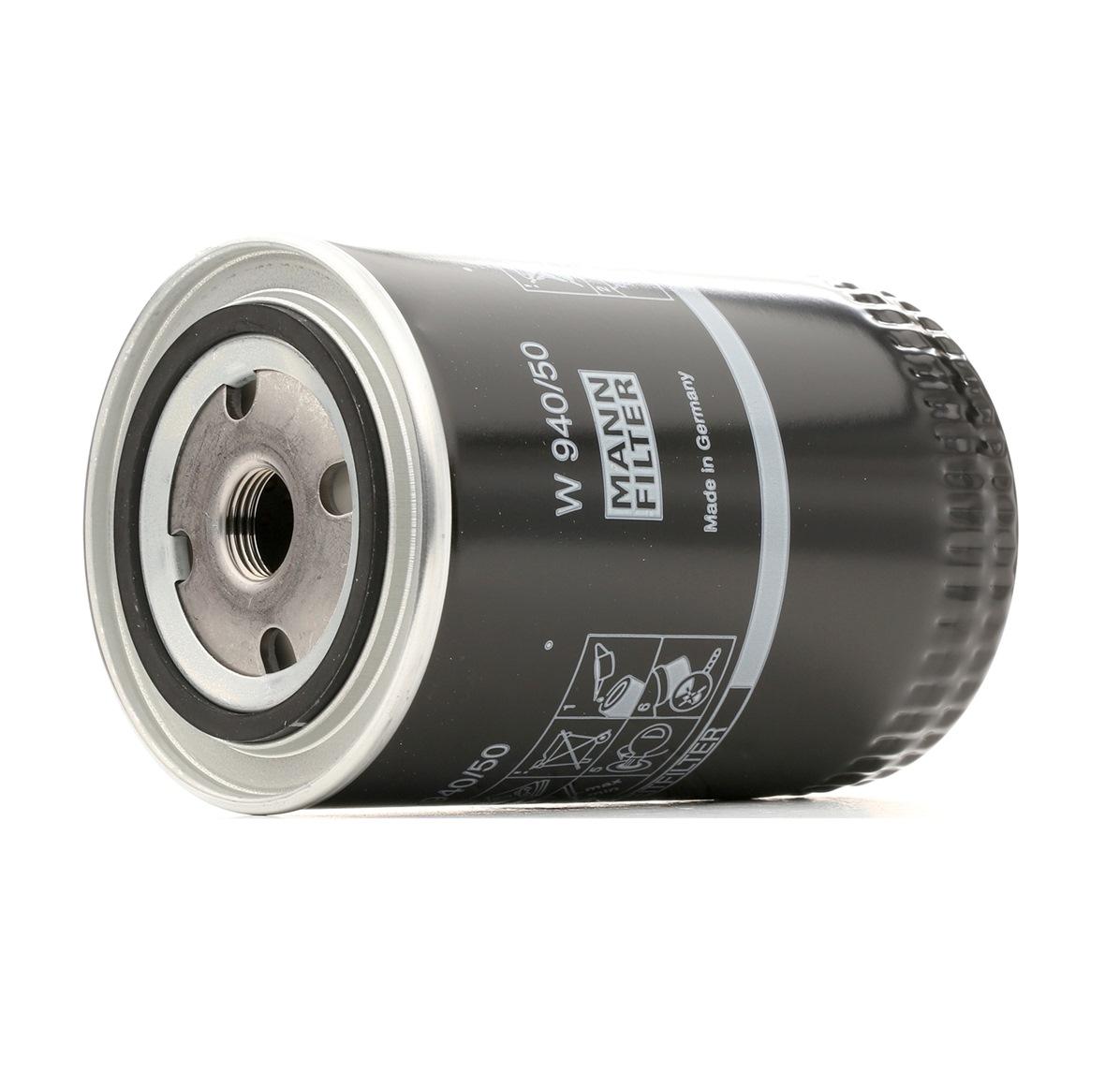 Original Alyvos filtras W 940/50 Volkswagen
