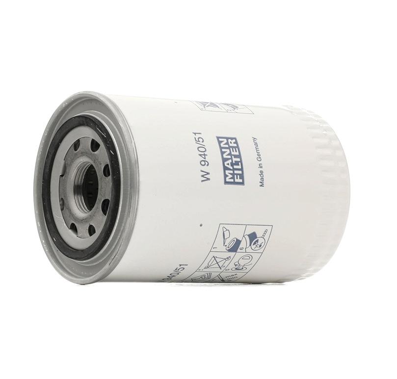 Nutzfahrzeuge MANN-FILTER Filter, Arbeitshydraulik W 940/51 kaufen