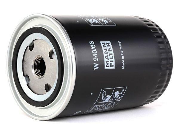 MANN-FILTER: Original Ölfilter W 940/66 (Innendurchmesser 2: 63mm, Ø: 93mm, Außendurchmesser 2: 72mm, Höhe: 150mm)