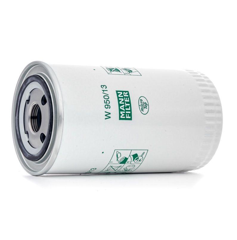 W 950/13 MANN-FILTER Eļļas filtrs VOLVO N 10 - iegādāties tagad