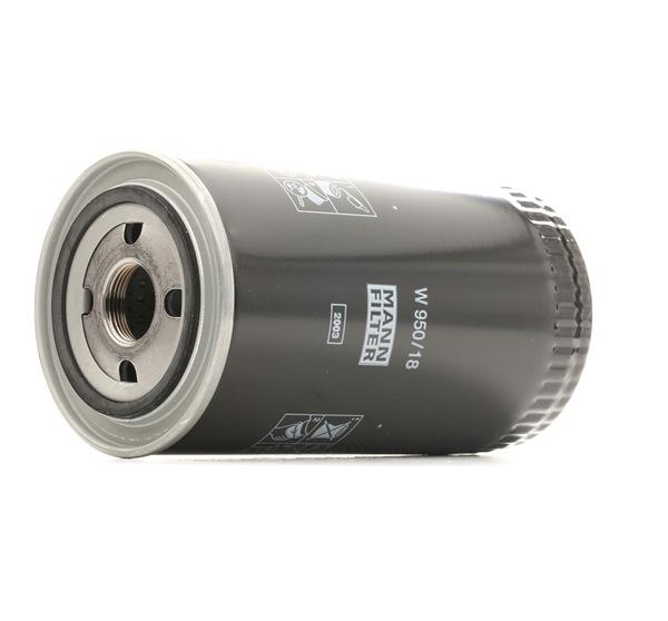 MANN-FILTER W 950/18 Ölfilter unschlagbar günstig
