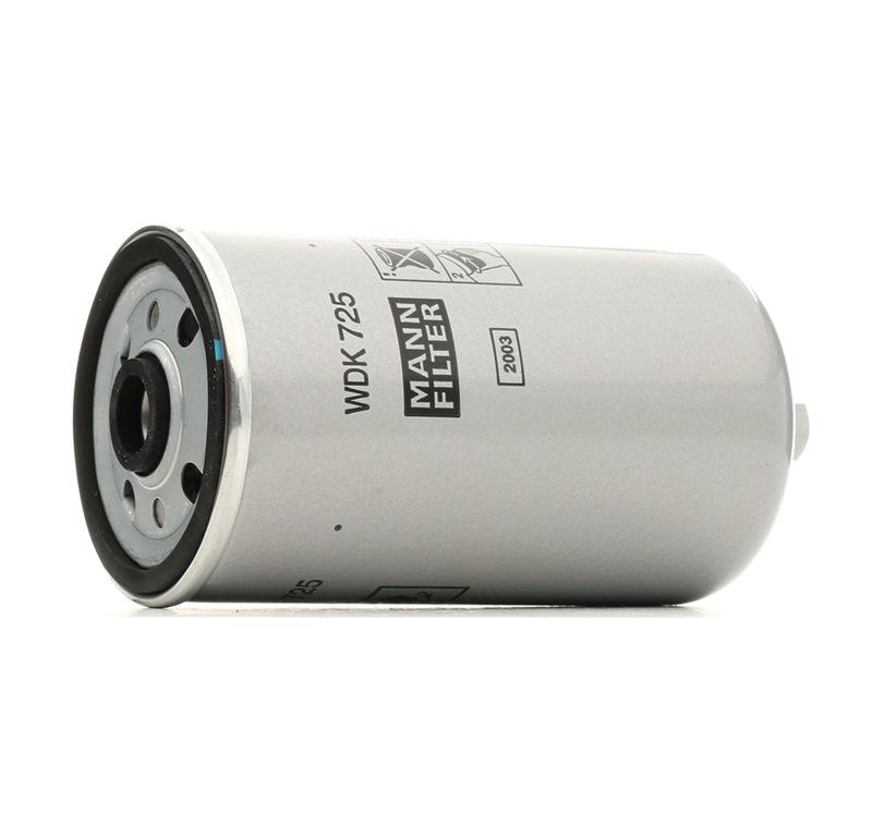 MANN-FILTER: Original Benzinfilter WDK 725 (Höhe: 155mm)