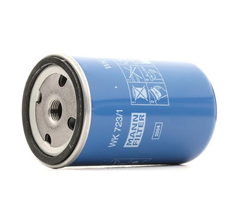 MANN-FILTER Bränslefilter WK 723/1 - köp med 18% rabatt