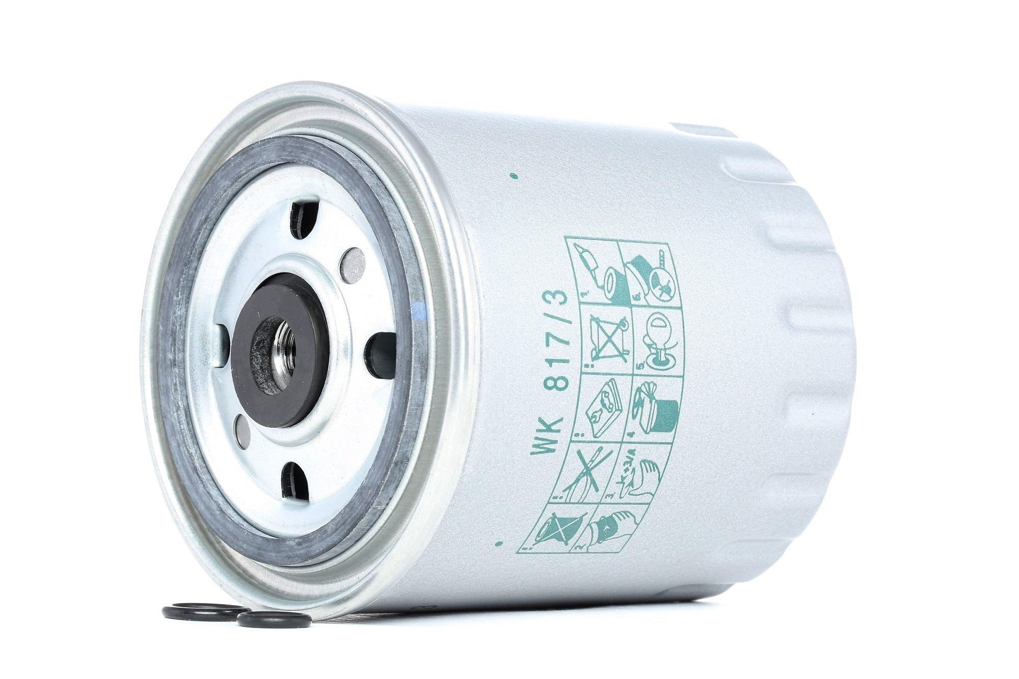 WK 817/3 x MANN-FILTER Brændstof-filter til MERCEDES-BENZ UNIMOG - køb nu