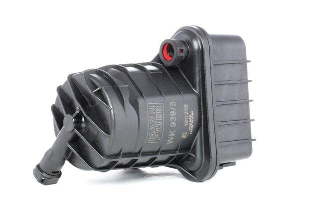 WK 939/3 MANN-FILTER Höhe: 188mm Kraftstofffilter WK 939/3 günstig kaufen