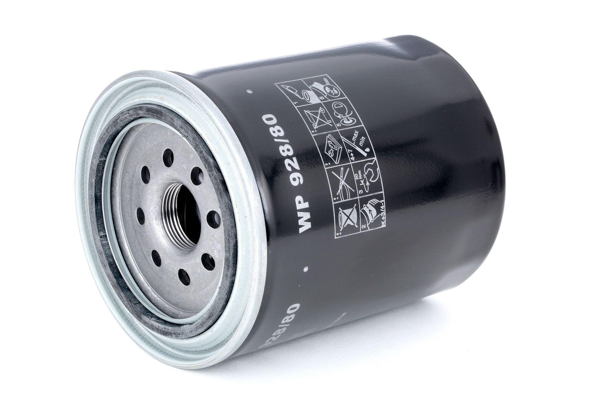 MANN-FILTER: Original Autofilter WP 928/80 (Innendurchmesser 2: 72mm, Innendurchmesser 2: 72mm, Ø: 102mm, Außendurchmesser 2: 80mm, Höhe: 126mm)
