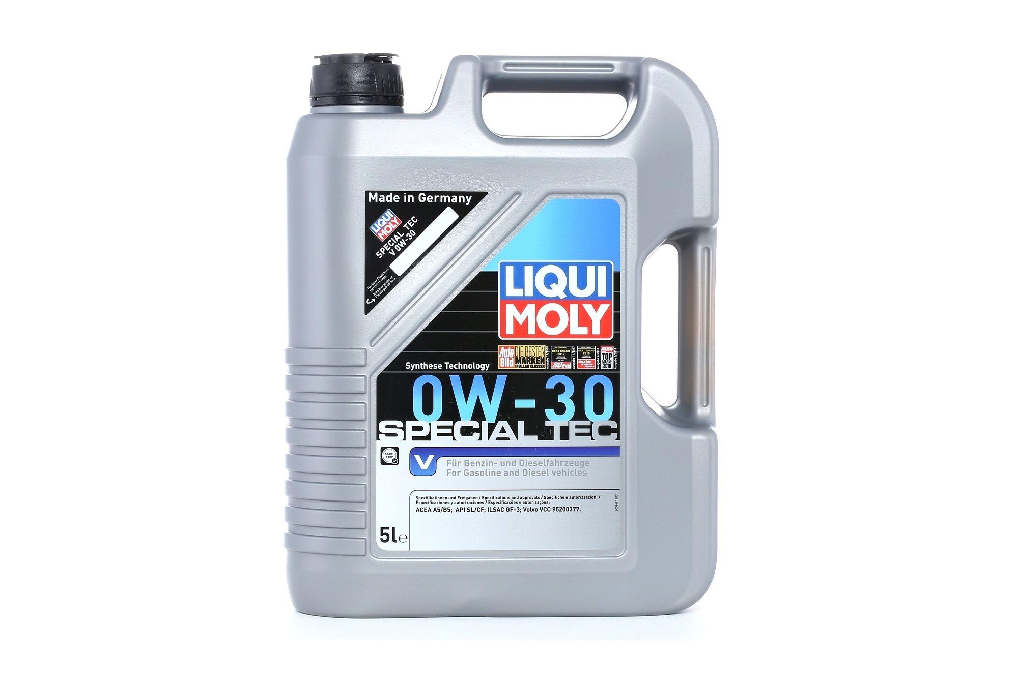 SpecialTecV0W30 LIQUI MOLY Special Tec, V 0W-30, 5l, Synthetiköl Motoröl 3769 günstig kaufen