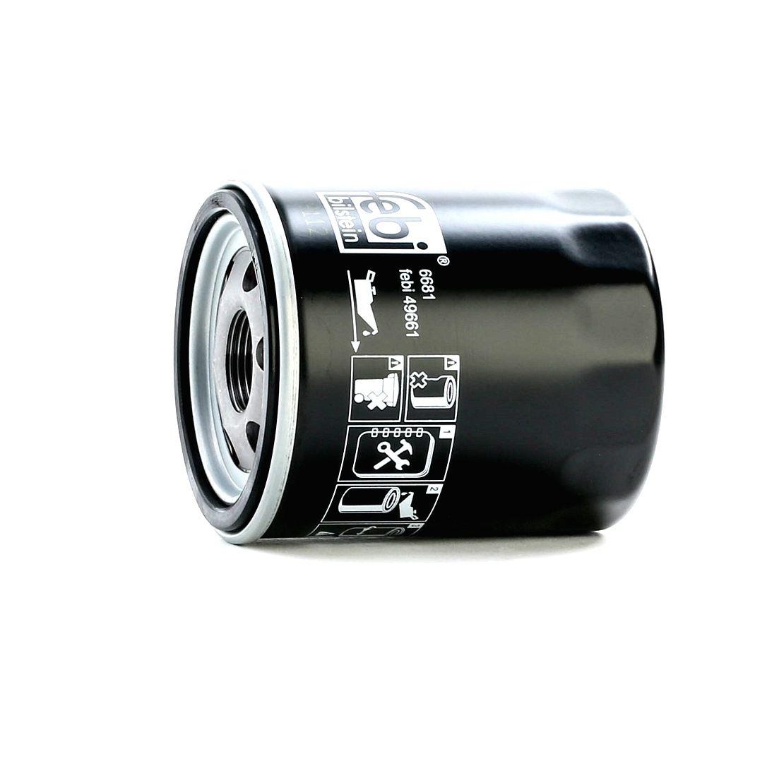 OPEL INSIGNIA 2014 Ölfilter - Original FEBI BILSTEIN 49661 Ø: 74,0mm, Höhe: 86,5mm