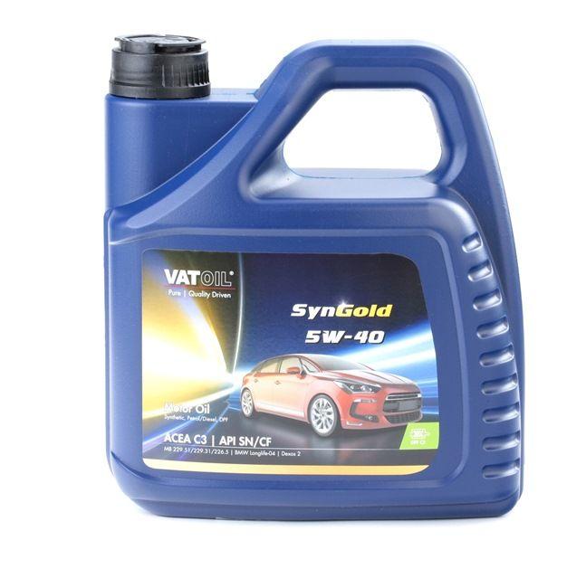 Qualitäts Öl von VATOIL 2236198212070 5W-40, 4l, Synthetiköl