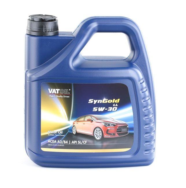Qualitäts Öl von VATOIL 2236198237330 5W-30, 4l, Synthetiköl