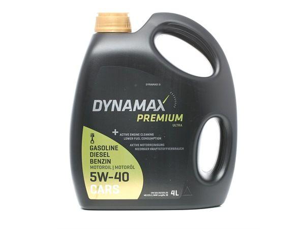 originali DYNAMAX Olio motore per auto 2248819824172 5W-40, 4l, Olio sintetico