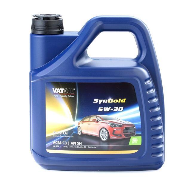 Qualitäts Öl von VATOIL 2236198244320 5W-30, 4l, Synthetiköl