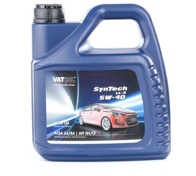 Qualitäts Öl von VATOIL 2236198249990 5W-40, 4l, Synthetiköl