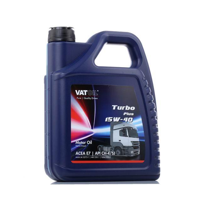 Qualitäts Öl von VATOIL 2236198262490 15W-40, 5l, Mineralöl