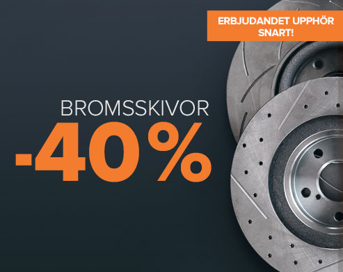 Erbjudandet upphör snart! Superrea Bromsskivor -40 % - Handla nu!