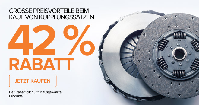 GROSSE PREISVORTEILE BEIM KAUF VON KUPPLUNGSSÄTZEN! 42 % RABATT - JETZT KAUFEN