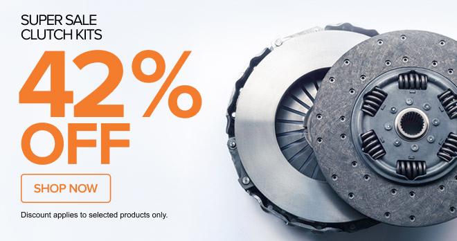 Super Sale! clutch kits 42% off - Shop now