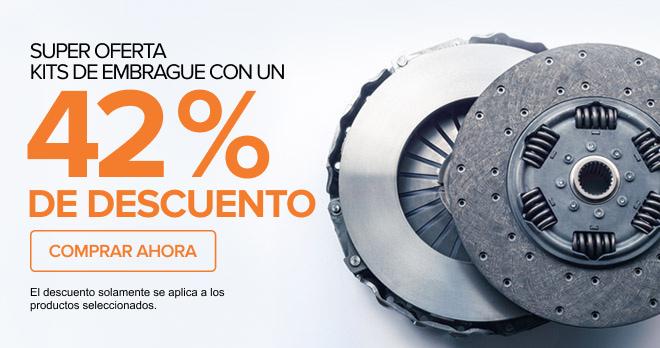 SUPER OFERTA! KITS DE EMBRAGUE CON UN 42% DE DESCUENTO - Comprar ahora