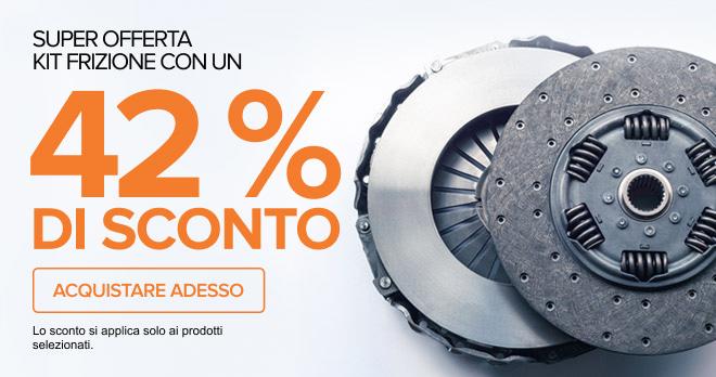 Super offerta Kit frizione con un! 42% DI SCONTO - Acquistare adesso