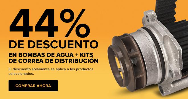 44% DE DESCUENTO EN! Bombas de agua + kits de correa de distribución