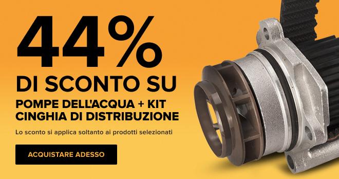 44% di sconto su! Pompe dell'acqua + kit cinghia di distribuzione