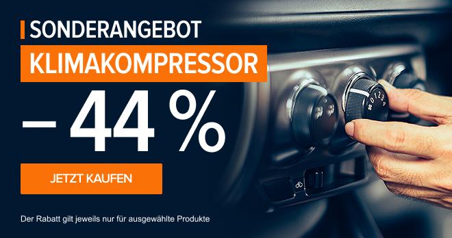 Klimakompressor –44 %