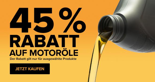 -45 % Auf Motoröl