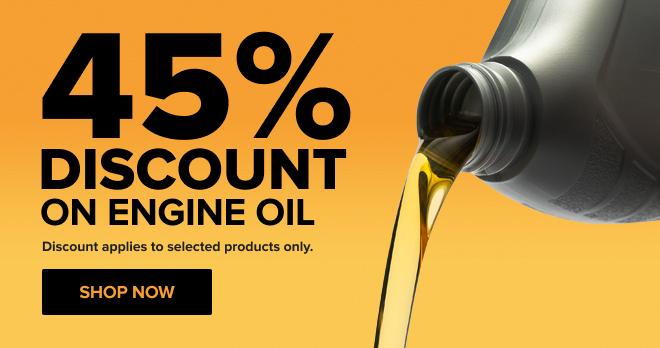 45% OFF Engine Oil