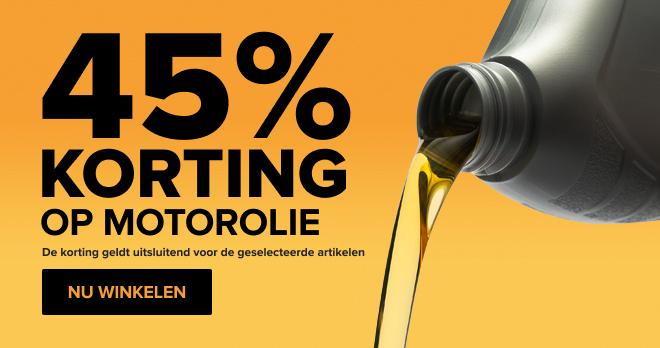 Motoroliën -45%