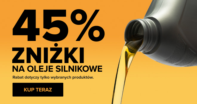 Oleje Silnikowe -45%