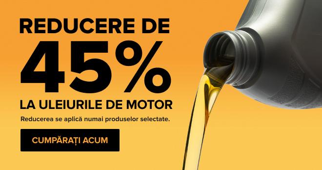 Uleiuri de motor -45%